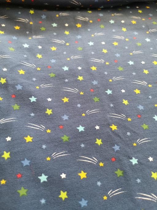 Sterne blau - Jersey