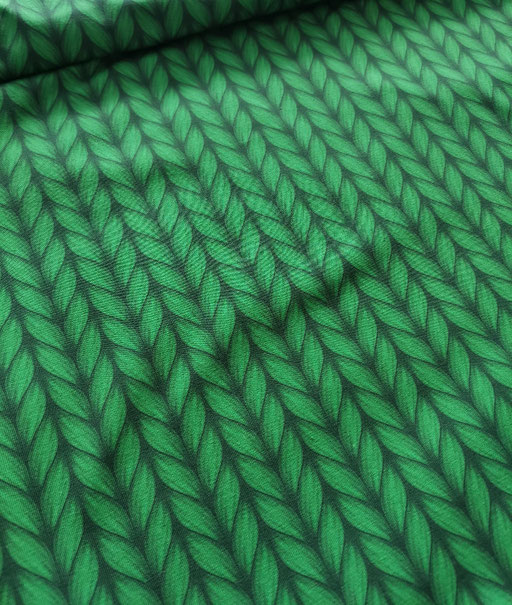 Plain Stitches grün - Jersey