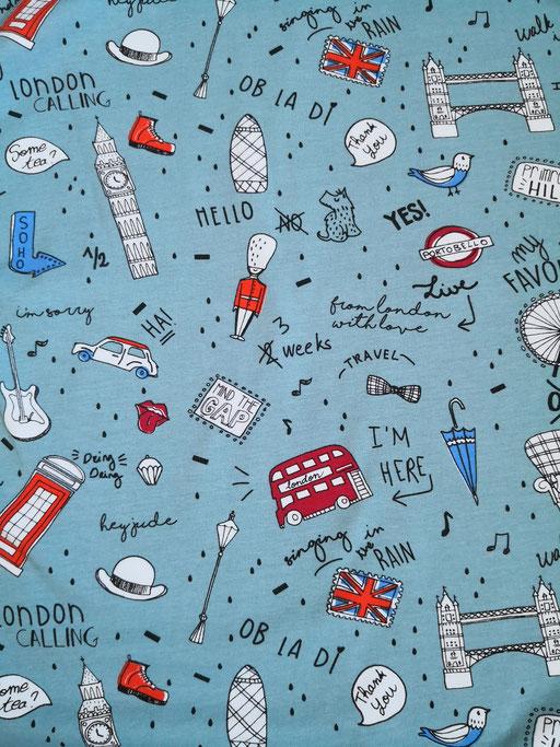 Londnon raucblau - Jersey