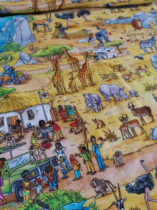 Wimmelbuch Safari - Jersey