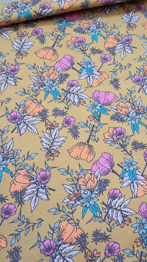 Boom Senf Blossom by brinarina - Jersey