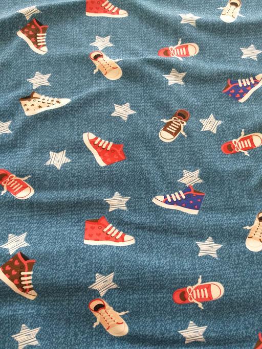 Schuhe blau - Jersey