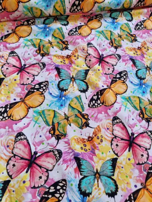 Bunte Schmetterlinge - Sommersweat