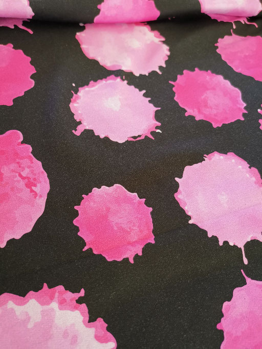 Watercolor Blobs pink - Sommersweat