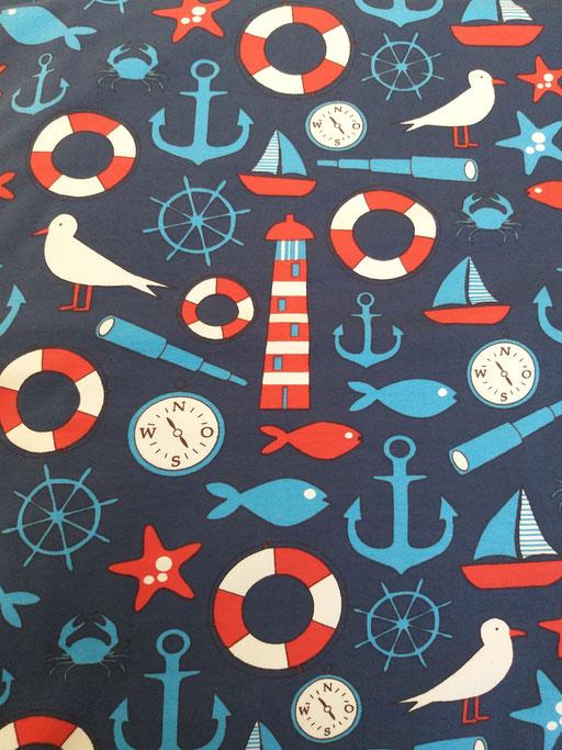 Maritim blau - Jersey