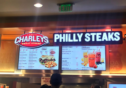 Philly Cheese Steak in San Fransisco