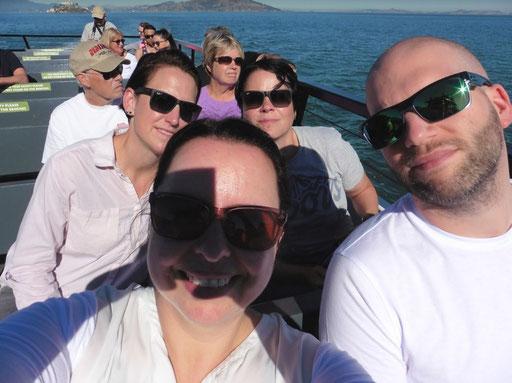 Auf dem Wag nach Alcatraz
