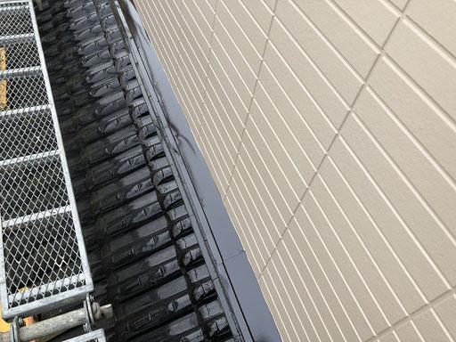 外壁塗装 雨抑え塗装