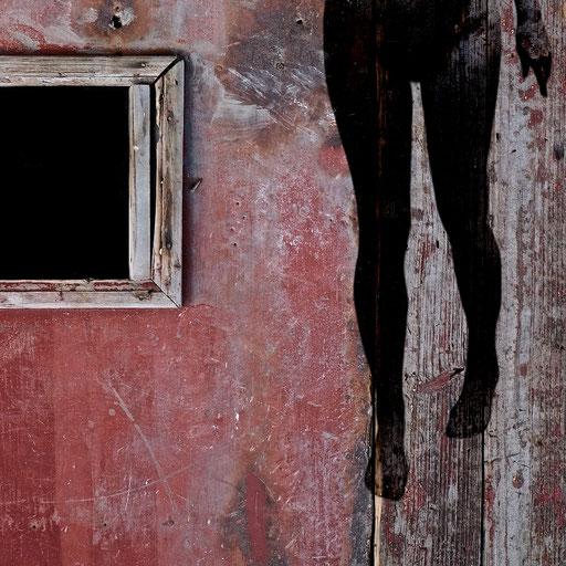 Near Life Experience - Garage door, Suzhou wih life model