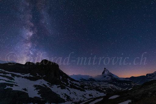 Matterhorn, Milchstrasse