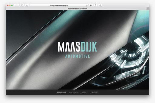 website Maasdijk Automotive