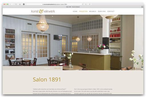 website Kunst & Vakwerk