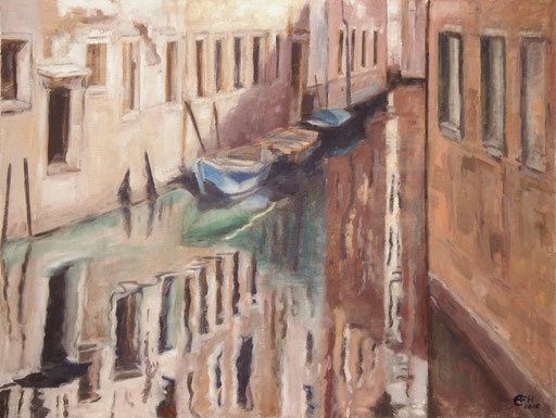 Reflection Venice II,60x80cm,Öl_Lwd.