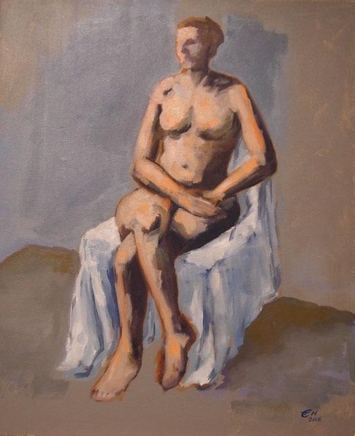 Woman Sitting Nr.3