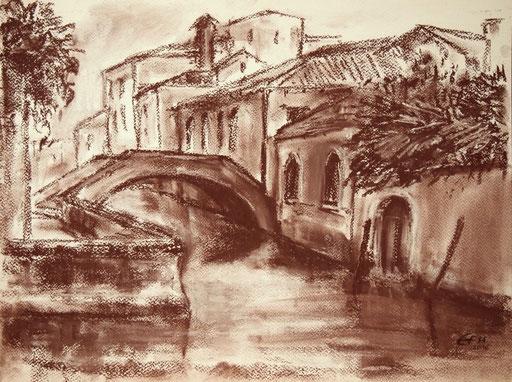 Venice Nr.8,Pastell  36x48cm
