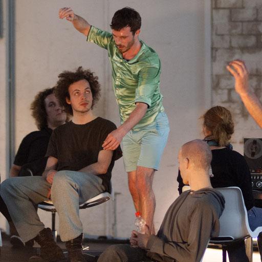 Wallen - by Sebastian Matthias; dancer: Isaac Spencer; photo: Arne Schmitt