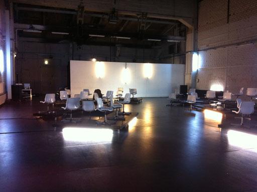 Wallen - by Sebastian Matthias; light and set design; photo: Tanja Ruehl
