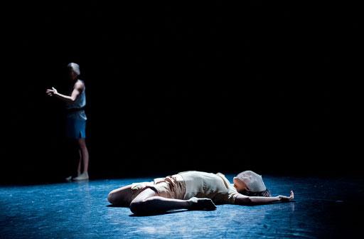 Provisional Landscapes - by Avatâra Ayuso; West Wing Theatre Slough; dancers: Sun Bee Han, Estela Merlos; photo: Pau Ros