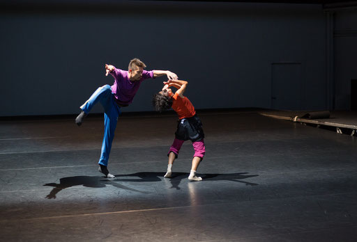 Study # 3 - by William Forsythe; dancers: Yoko Ando, Yasutake Shimaji; photo: Dominik Mentzos