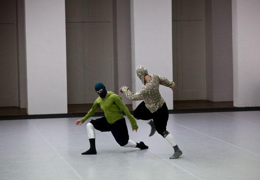 Sider - by William Forsythe; dancers: Ander Zabala, Brigel Gjoka; photo: Dominik Mentzos