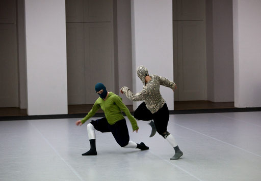 Sider - by William Forsythe; dancers: Ander Zabala, Brigel Gjoka; photo: Dominik Mentzos