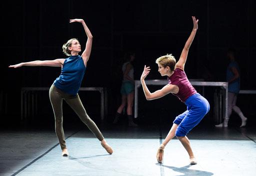 Frankfurt Diaries - Ballett des Staatstheaters am Gärtnerplatz - choreography: Allison Brown, Reithalle, München; photo: Marie-Laure Briane