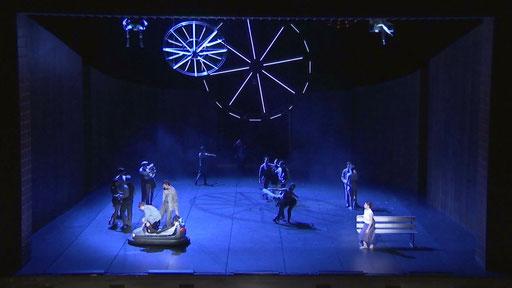 Liliom - by Tim Plegge, Hessisches Staatsballett, Staatstheater Darmstadt; dancers: HSB company; photo: Maren Junker