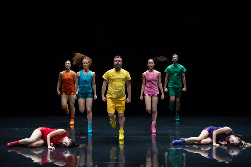 Aerobics! - Ein Ballett in 3 Akten - by Paula Rosloen; Théâtre des Abbesses; photo: Laurent Philippe