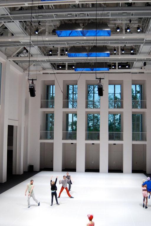 Selon - by William Forsythe; Festspielhaus Dresden Hellerau; photo: Tanja Ruehl
