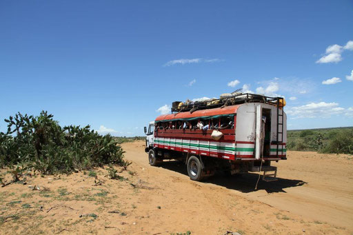 Bus from Tulear to Morondava