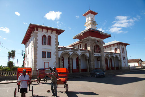 Train station Antsirabe