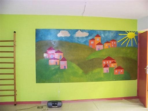 Travaux printemps 2013 - Réfection de la salle de motricité