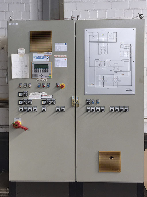 Tiefkühlhaus Schaltzentrale Kühlmaschinen