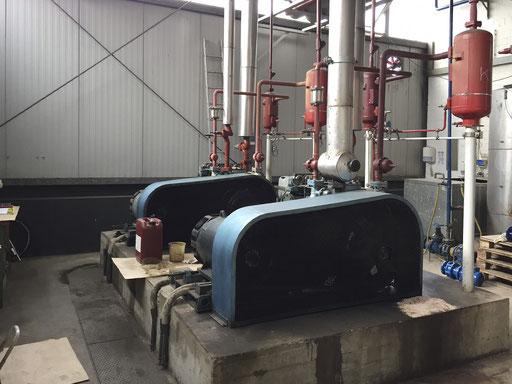 Tiefkühlhaus Technikraum