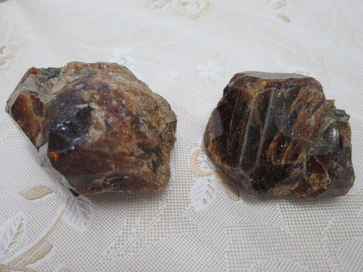 ☆オレンジガーネット原石