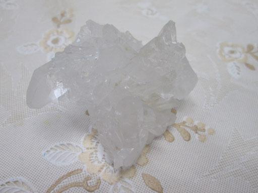☆アーカンソー州産水晶クラスター 78g ¥2,000