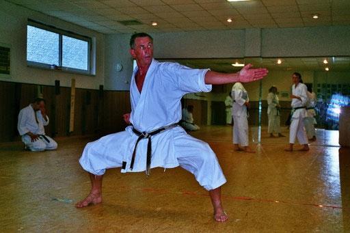 Dreising, Hans | Karatetraining seit 1980 | 1.Dan | 2.Dan 1998