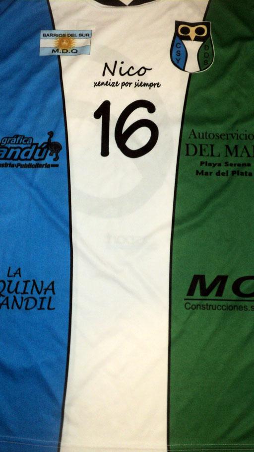 Social y Deportivo Defensores del Sur, Los Acantilados,partido de General Pueyrredon -  Buenos Aires.