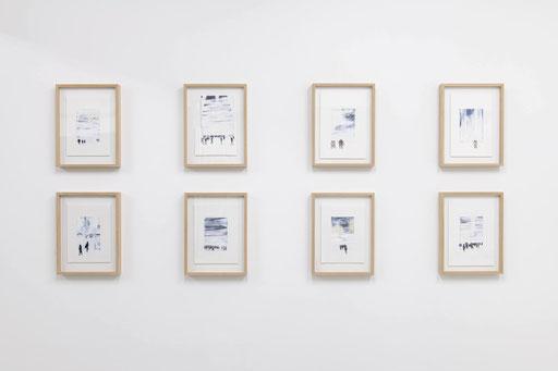 Installation view at Maki Fine Arts