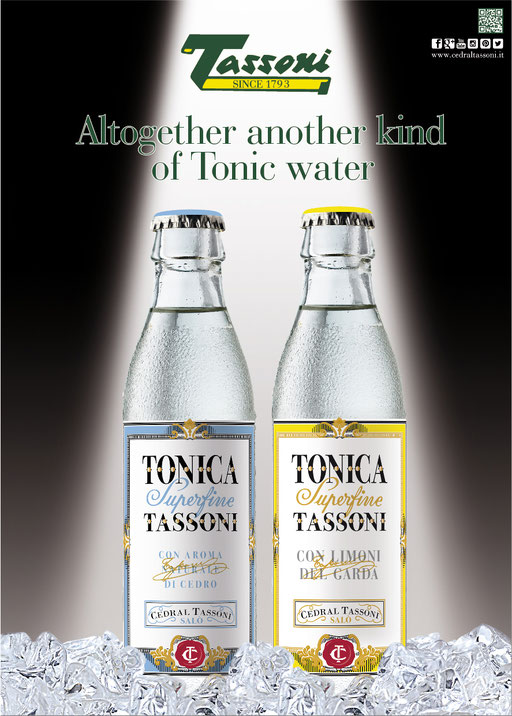 Tassoni Superfine Tonic Waters