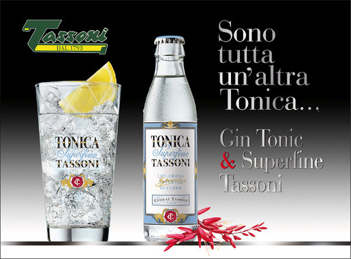 Tassoni Superfine Tonic water
