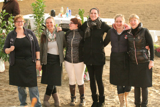 Unser hervorragendes Catering Team