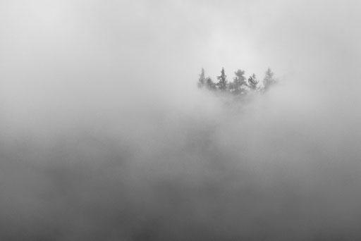 Kurzer LIchtblick in den Bergen der Alpen © martinsieringphotography