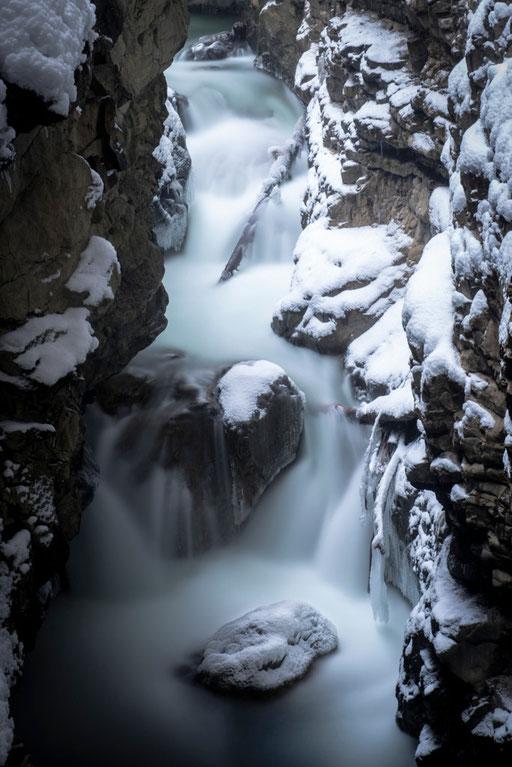 Breitachklamm im Winter - Oberstdorf, Oberallgäu © martinsieringphotography