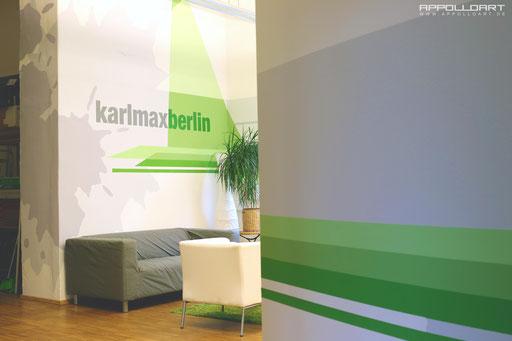 Wanddesign im modernen Raumdesign - Berlin Kreuzberg