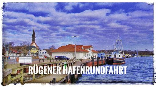 Rügener Hafenrundfahrt mit dem Kleinbus