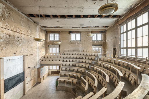 aufgegebener Hörsaal
