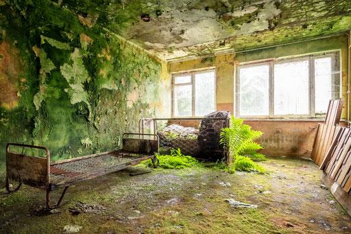 verlassenes Ferienhotel