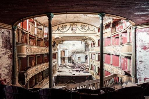 verlassenes Theater (Italien)