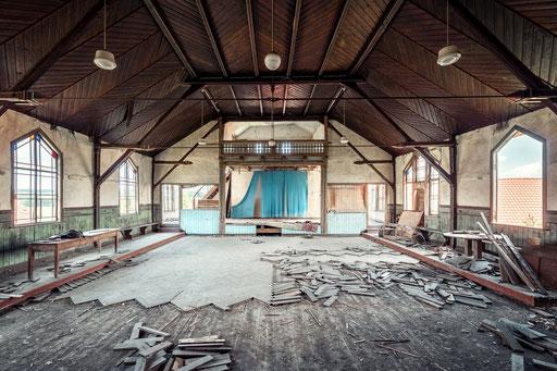 verlassener Saal